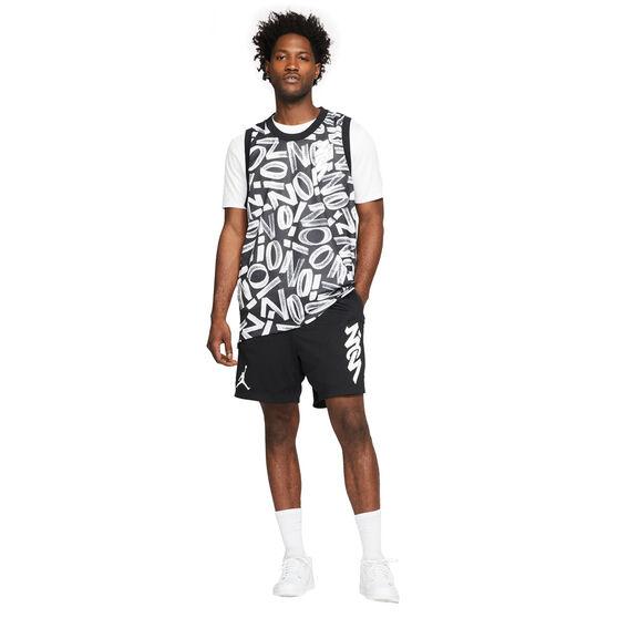 Jordan Mens Dri-FIT Zion Mesh Shorts, Black, rebel_hi-res