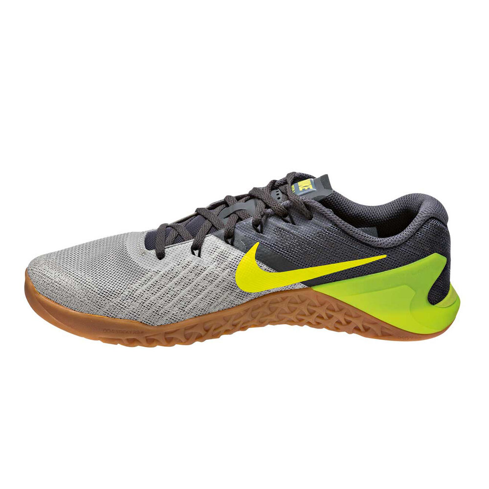 986a42ecb Nike Metcon 3 Mens Training Shoes Grey   Yellow US 7