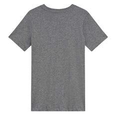 Nike Sportswear Boys Logo Tee Grey XS, Grey, rebel_hi-res