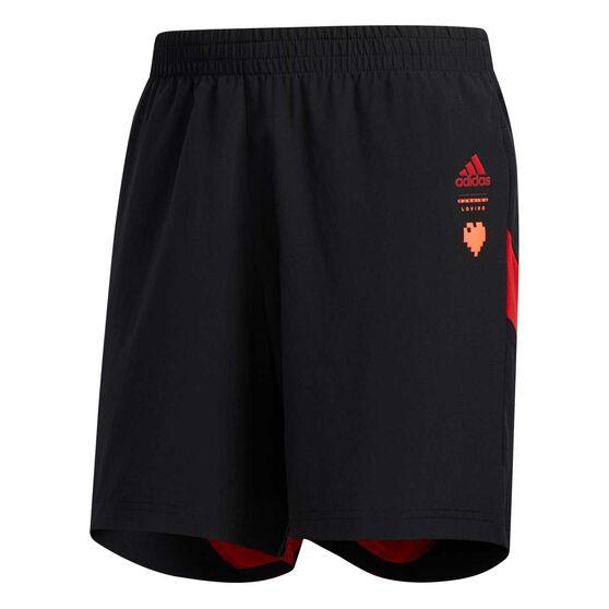 adidas Mens Own The Run Shorts, Black, rebel_hi-res
