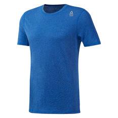 Reebok Mens CrossFit Performance Blend Tee Blue XS, Blue, rebel_hi-res