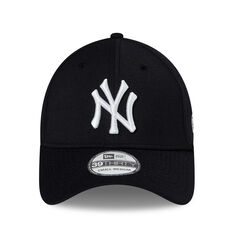 New York Yankees New Era 39THIRTY Team Hits Cap Black S / M, Black, rebel_hi-res