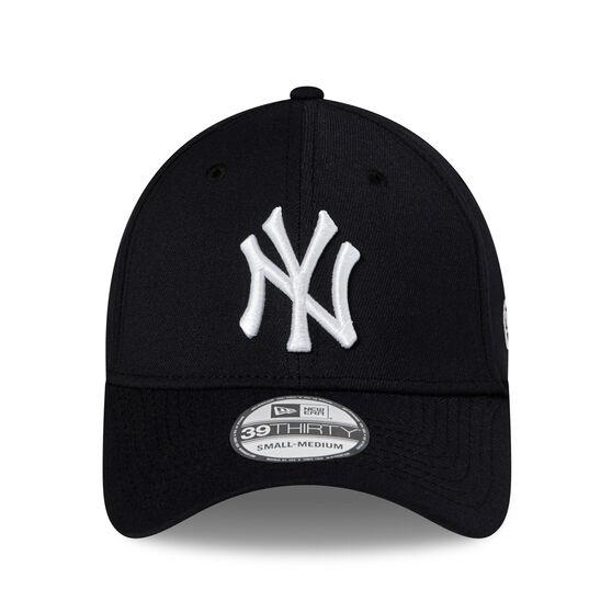 New York Yankees New Era 39THIRTY Team Hits Cap, Black, rebel_hi-res