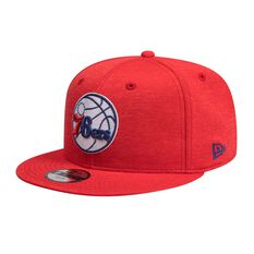 Philadelphia 76ers Kids New Era 9FIFTY Shadow Tech Tech Team Cap, , rebel_hi-res