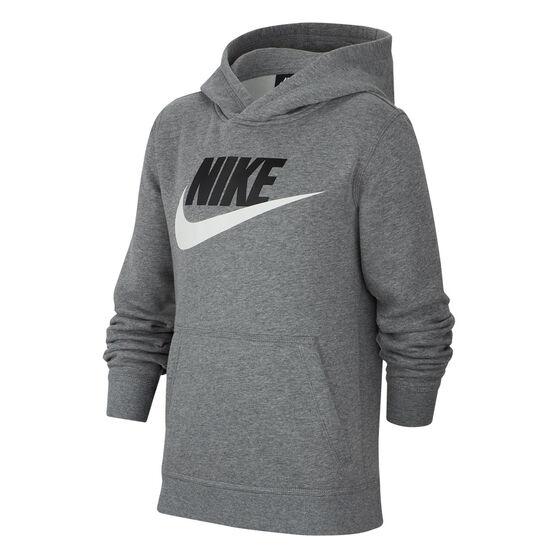Nike Boys NSW HBR Club Hoodie, Grey, rebel_hi-res