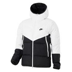 Nike Mens Down Filled Windrunner White XS, White, rebel_hi-res