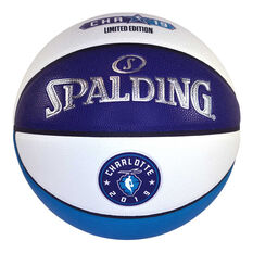 Spalding NBA Charlotte All Star 2019 Basketball Blue / Silver 7, , rebel_hi-res