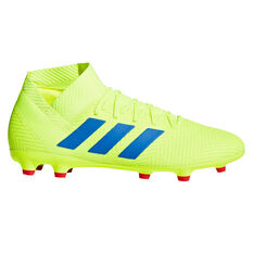 adidas Nemeziz 18.3 Mens Football Boots Yellow / Blue US Mens 7 / Womens 8, Yellow / Blue, rebel_hi-res