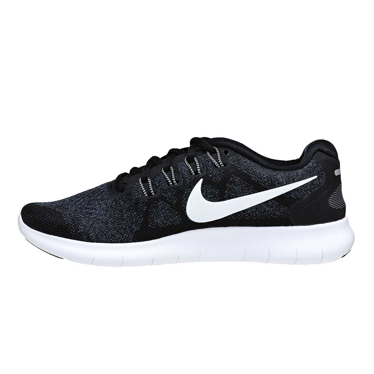 huge discount 3d2bf cf4f5 ... official nike free run 2 mens running shoes black white us 7 black  white d03d4 fb83c