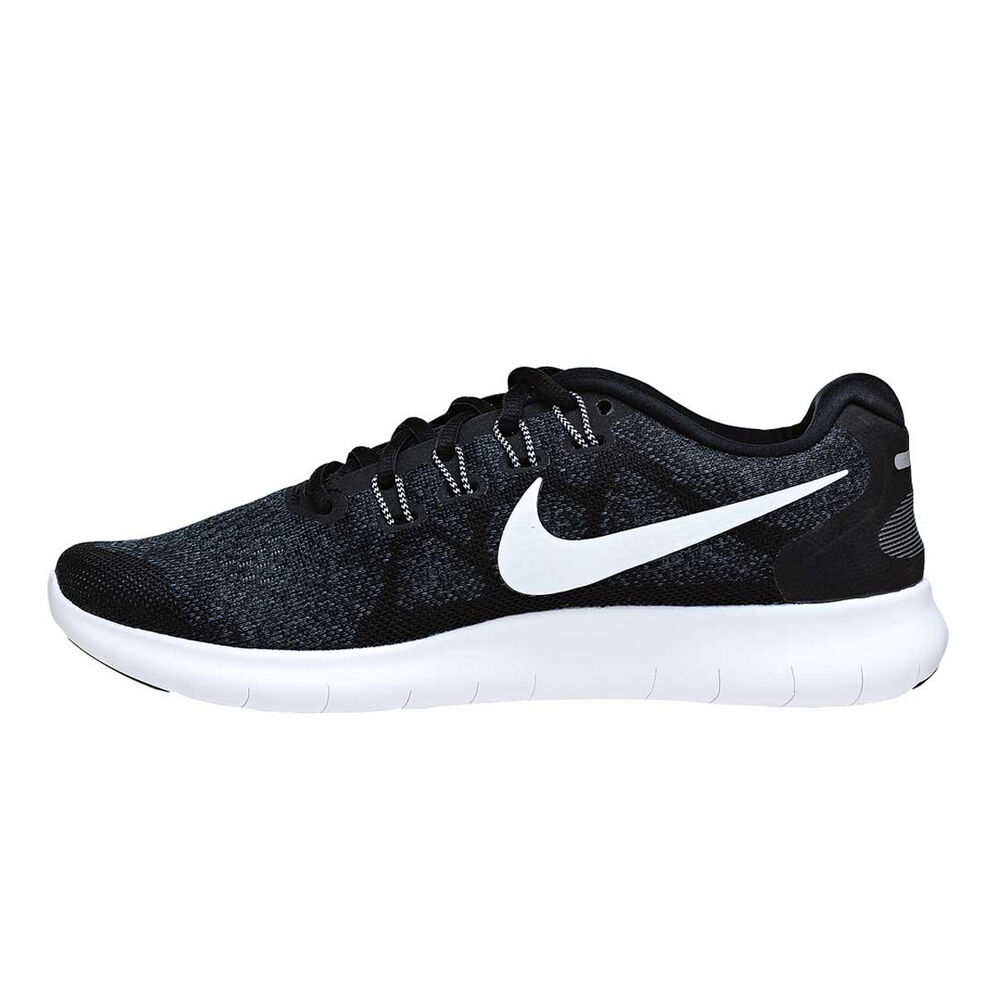 2293d9ea1e26 Nike Free Run 2 Mens Running Shoes Black   White US 7