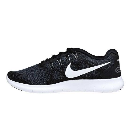 2293d9ea1e26 Nike Free Run 2 Mens Running Shoes Black   White US 7