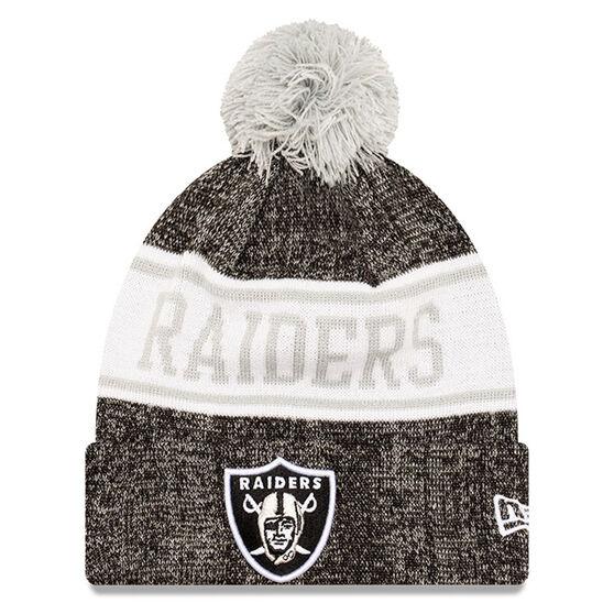Las Vegas Raiders New Era Pom Knit Beanie, , rebel_hi-res