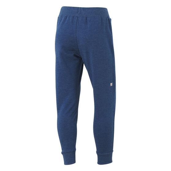 Ell & Voo Girls Harper Fleece Pants, Navy, rebel_hi-res
