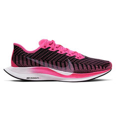 Nike Zoom Pegasus Turbo 2 Womens Running Shoes Pink / White US 6, Pink / White, rebel_hi-res