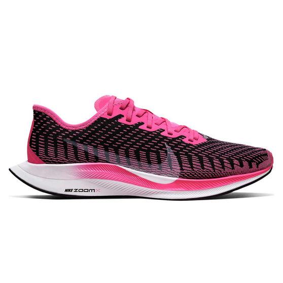 Nike Zoom Pegasus Turbo 2 Womens Running Shoes Pink / White US 8, Pink / White, rebel_hi-res