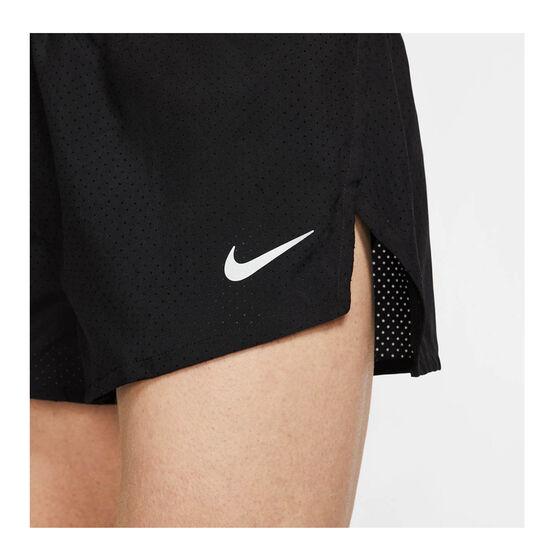 Nike Mens Fast 2 Inch Running Shorts, Black, rebel_hi-res