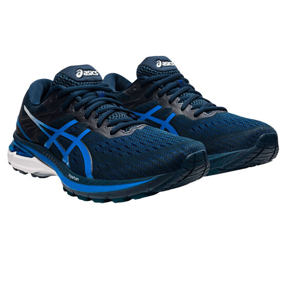 Asics GT 2000 9 Mens Running Shoes, Black/Blue, rebel_hi-res