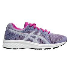 Asics Jolt 2 Kids Running Shoes Purple / White US 4, Purple / White, rebel_hi-res