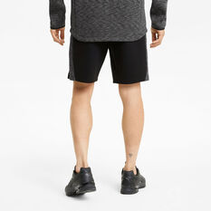 Puma Mens EvoStripe 8in Shorts, Black, rebel_hi-res