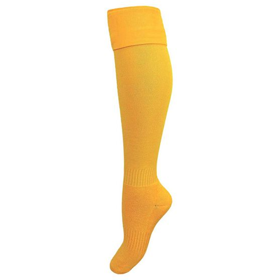 Burley Kids Football Socks, Gold, rebel_hi-res