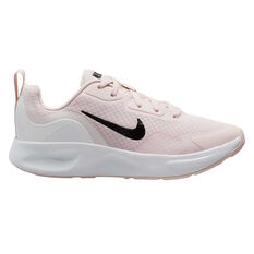 Nike Wearallday Womens Casual Shoes Pink/Black US 6, Pink/Black, rebel_hi-res