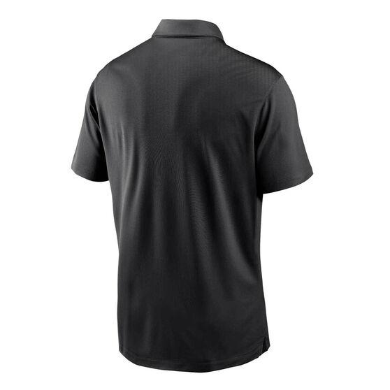 Oakland Raiders 2020 Mens Logo Essential Polo, Black, rebel_hi-res