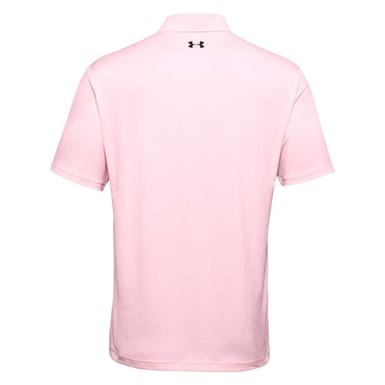 Under Armour Mens Performance Polo, Peach, rebel_hi-res