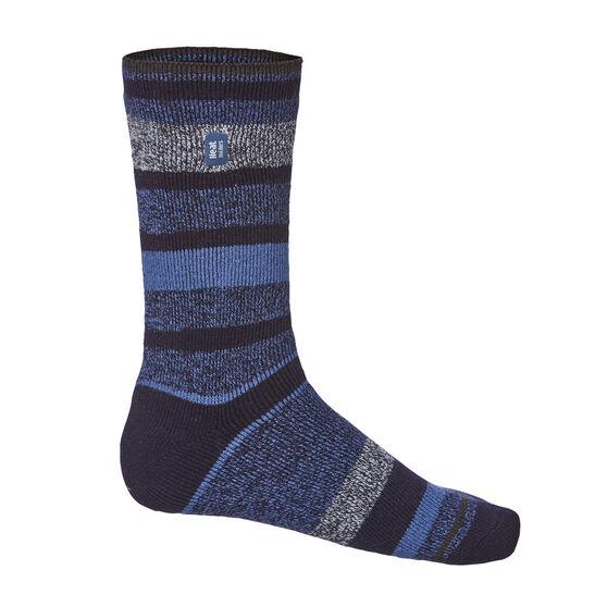 Heat Holders Mens Stripe Lite Socks US 6 - 11, , rebel_hi-res