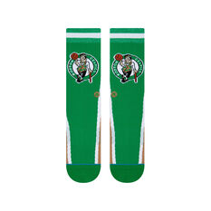 Stance Boston Celtics HWC Warmup Socks Green, Green, rebel_hi-res