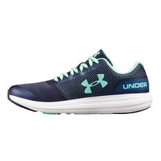 Under Armour UA Surge Kids Running Shoes Blue US 4, Blue, rebel_hi-res