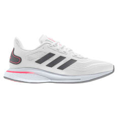 adidas Supernova Womens Running Shoes White/Grey US 6, White/Grey, rebel_hi-res