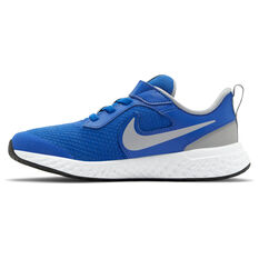Nike Revolution 5 Kids Running Shoes Blue US 11, Blue, rebel_hi-res