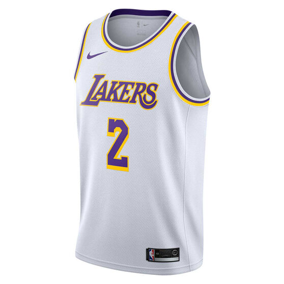 Nike Los Angeles Lakers Lonzo Ball 2019 Mens Swingman Jersey  b7c60166e