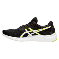 Asics GEL Pulse 11 Mens Running Shoes Black/Green US 7, Black/Green, rebel_hi-res