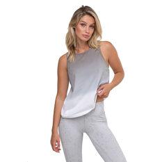L'urv Womens Night Fall Tank Grey XS, Grey, rebel_hi-res