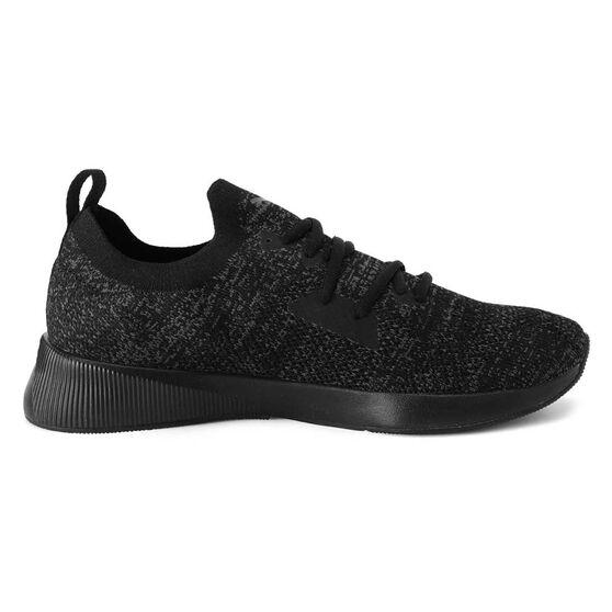 Puma Flyer Runner Mens Running Shoes, Black, rebel_hi-res