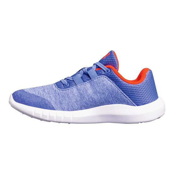 online store 2915c 52513 Under Armour Mojo Junior Girls Running Shoes Blue / Coral US 11