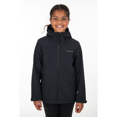 Macpac Kids Sabre Hooded Jacket Black 6, Black, rebel_hi-res