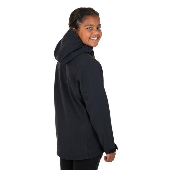 Macpac Kids Sabre Hooded Jacket, Black, rebel_hi-res