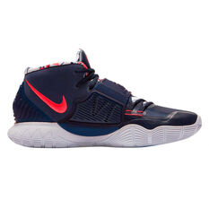 Nike Kyrie VI Mens Basketball Shoes Navy/Red US 7, Navy/Red, rebel_hi-res