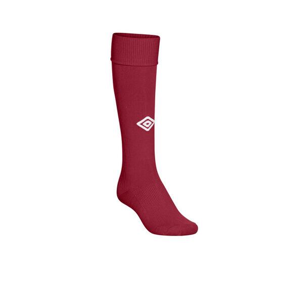 Umbro Mens League Socks, Claret, rebel_hi-res