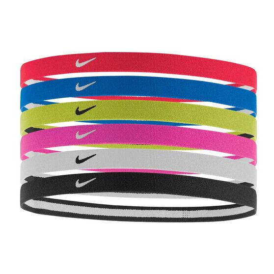Nike Swoosh Sports Headband 6 Pack, , rebel_hi-res