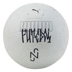 Puma Neymar Jr Streetball Soocer Ball Grey 3, Grey, rebel_hi-res