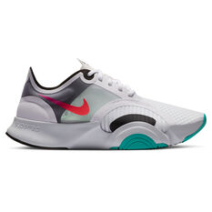 Nike SuperRep Go Womens Training Shoes White/Crimson US 6, White/Crimson, rebel_hi-res