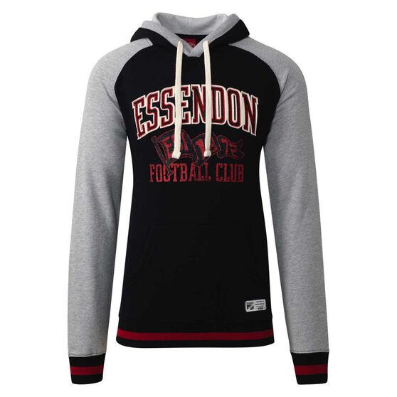 Essendon Bombers Mens Collegiate Pullover Hoodie, , rebel_hi-res