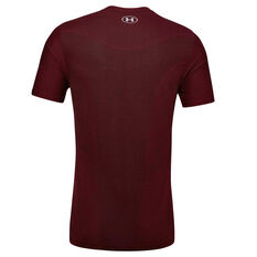 Under Armour Mens Seamless Training Tee, Red, rebel_hi-res