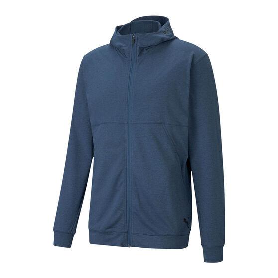 Puma Mens Training Concept Full Length Zip Jacket, Blue, rebel_hi-res