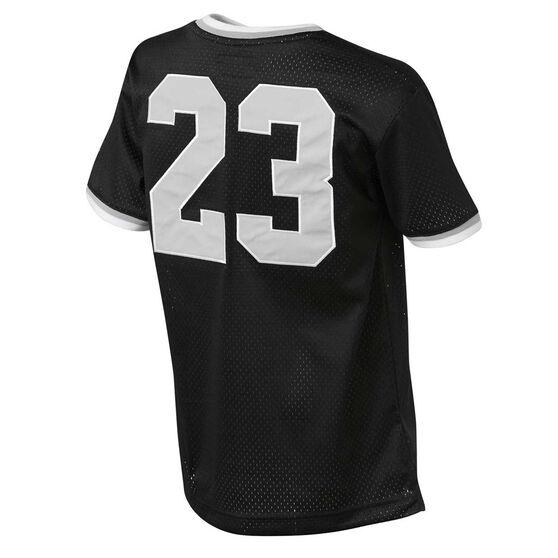 Nike Boys Jordan Jumpman Mesh 23 Tee, Black, rebel_hi-res