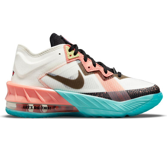 Nike LeBron 18 Low x Space Jam: A New Legacy Kids Basketball Shoes, , rebel_hi-res