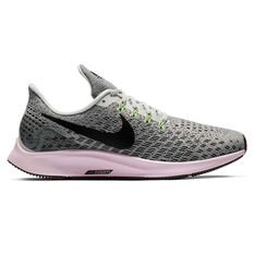 Nike Air Zoom Pegasus 35 Womens Running Shoes Grey / Pink US 6, Grey / Pink, rebel_hi-res